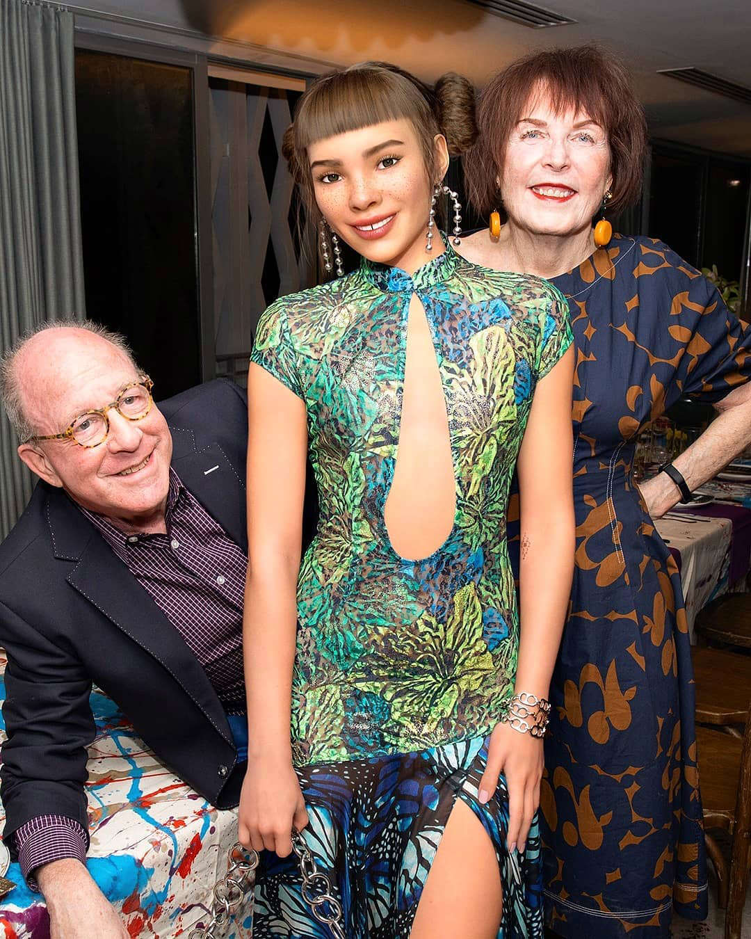 Miquela was in Art Basel Miami 2019