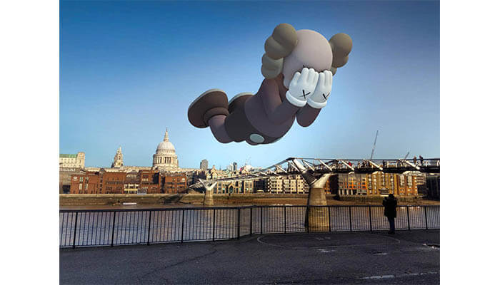 KAWS and Acute Art augmented reality app