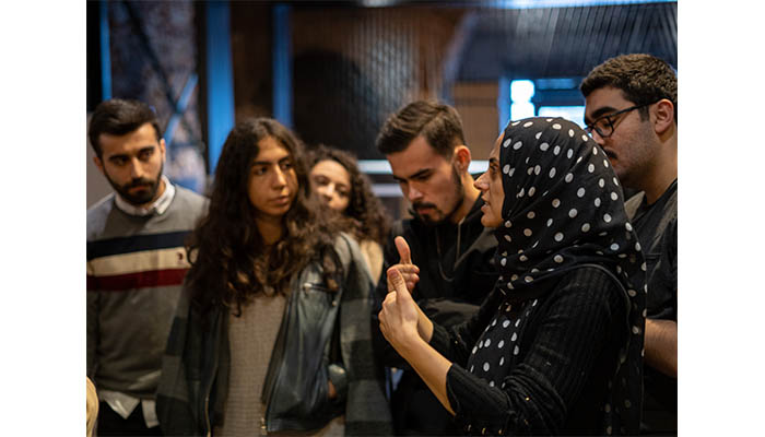 "Agora Talk: 9 Sept 2020 Elif Eda ""The Thing Between Us"""