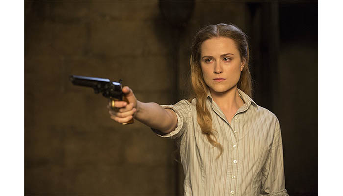 Evan Rachel Wood in Westworld (2016) — Image source- IMDb
