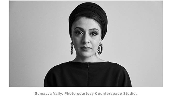 Sumayya Vally. Photo courtesy Counterspace Studio.