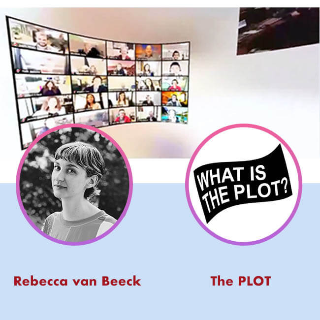 20.07.22 Rebecca van Beeck and The PLOT for Agora Digital Art