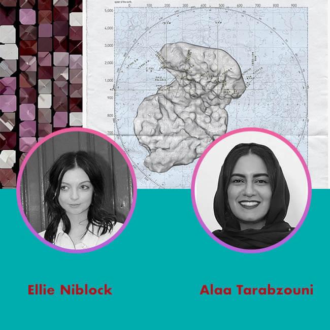 20.09.23 Ellie Niblock and Alaa Tarabzouni for Agora Digital Art