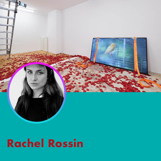 ARTISTS PROFILE Rachel Rossin for Agora Digital Art