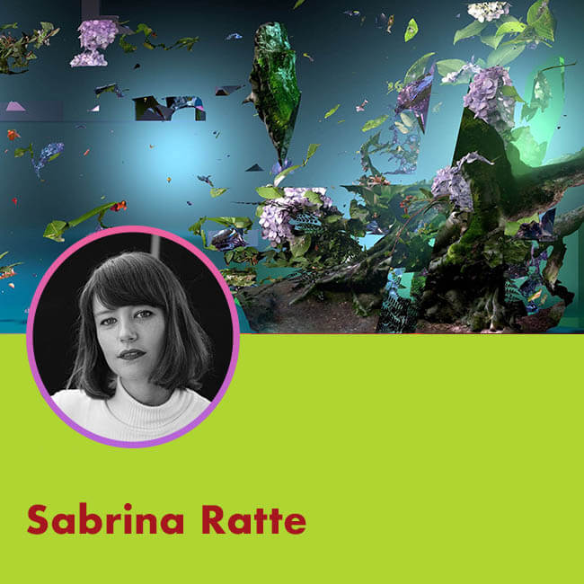 ARTISTS PROFILE Sabrina Ratté for Agora Digital Art