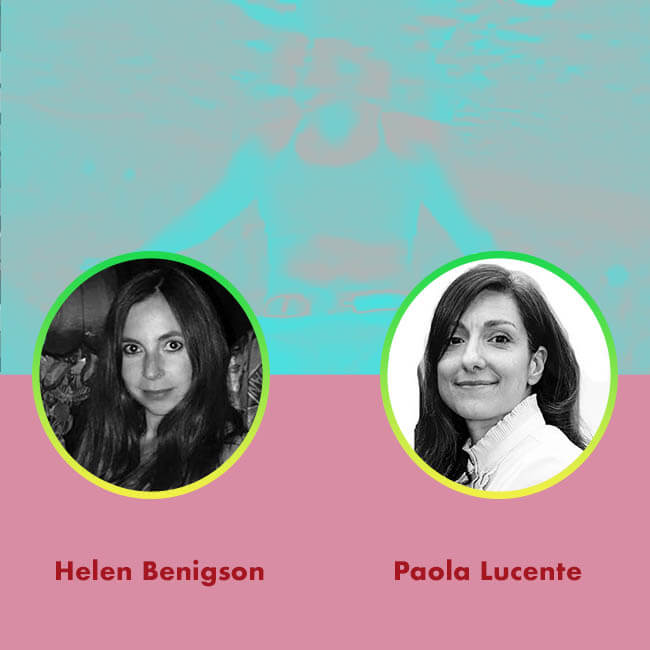 20.07.22 AGORA TALK3: HELEN BENIGSON _ PAOLA LUCENTE FOR AGORA DIGITAL ART