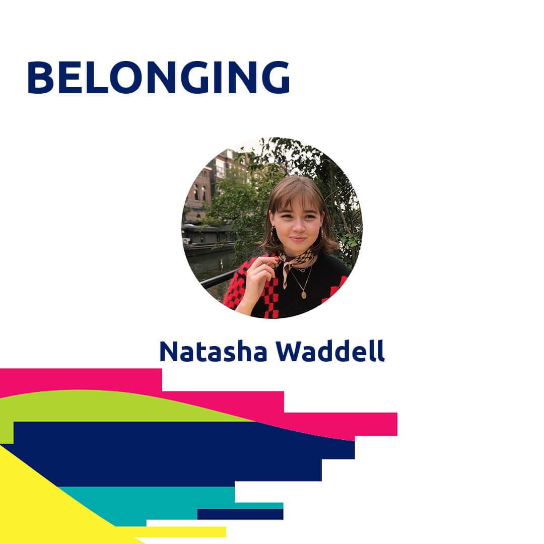 BELONGING PODCAST by Natasha Waddell, Agora Digital Contributor for Agora Digital Art