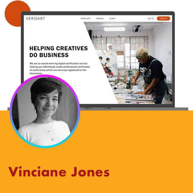 21.04.07 Agora Talk: Vinciane Jones Verisart at Agora Digital Art