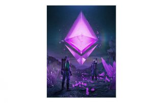 Beeple-Into-The-Ether-Token-Art Artwork analysis by Numomo partner of Agora Digital Art