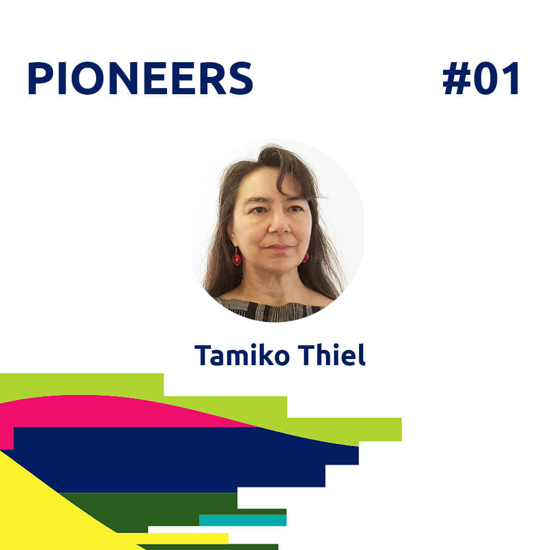 21.02.25 PIONEERS Podcast # 1 Tamiko Thiel conversation with Peter Traynor for Agora Digital Art