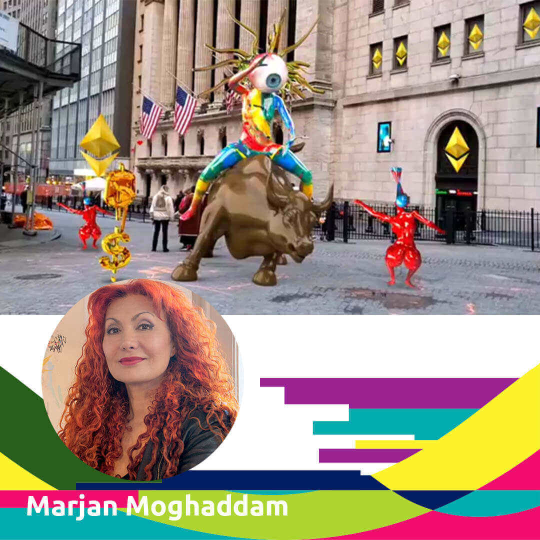 21.05.19 Agora Talk 25 - Marjan Moghaddam - Agora Digital Art