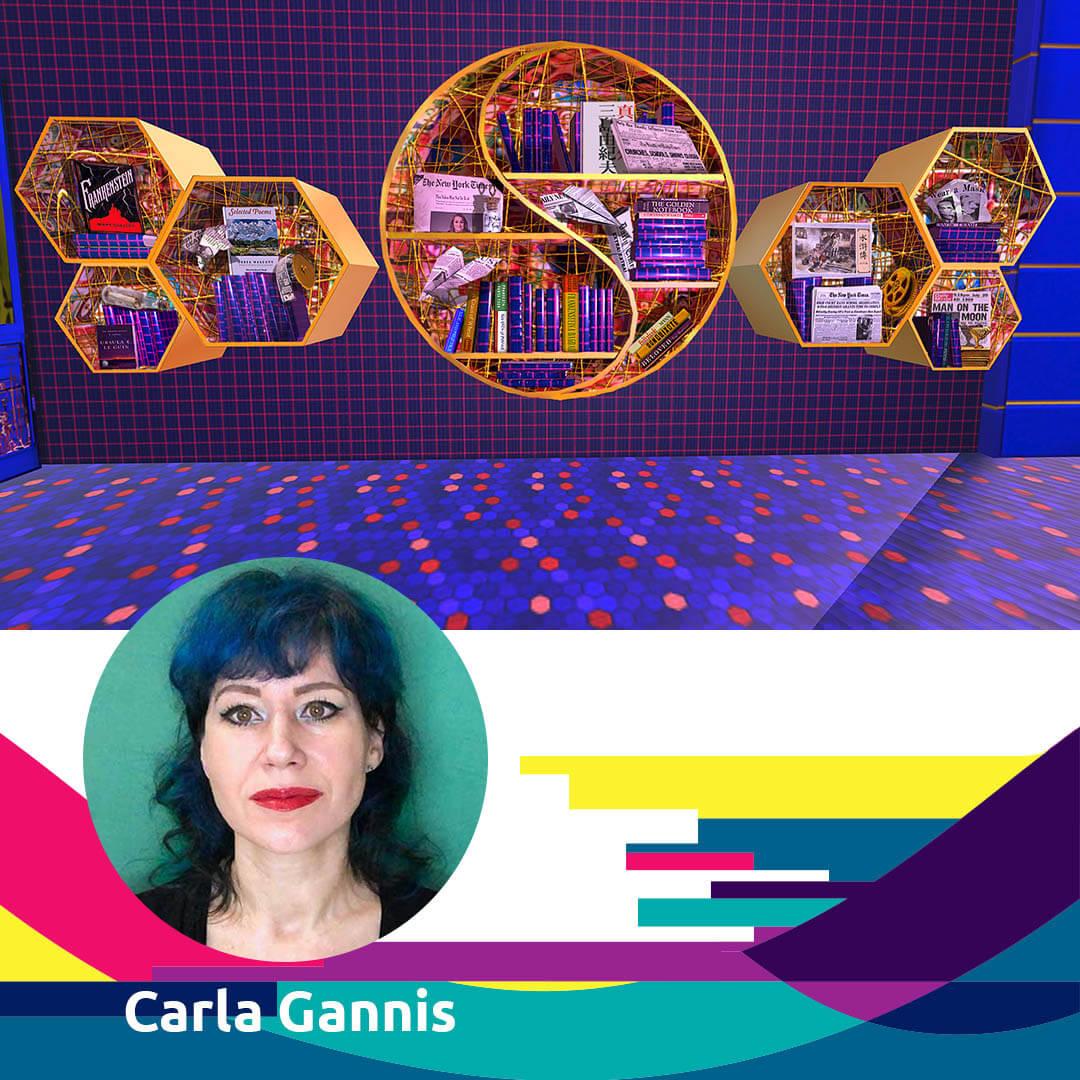 21.04.14 Agora Talk 22 Carla Gannis - wwwunderkammer for Agora Digital Art