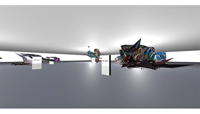 Collaboration with Rudy Paganini2 - Infinite Museum NFT - Agora Digital Art