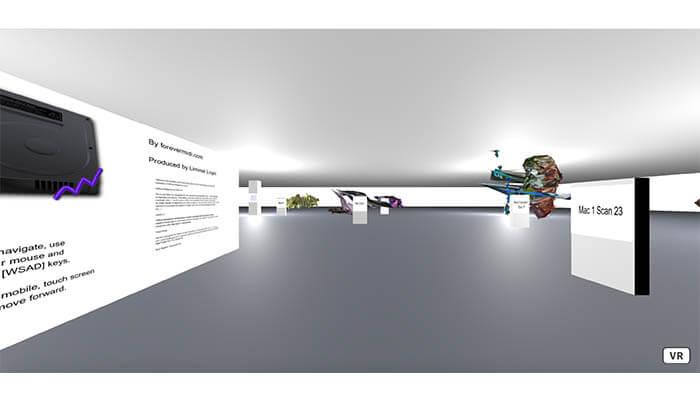 Collaboration with Rudy Paganini1 - Infinite Museum NFT - Agora Digital Art