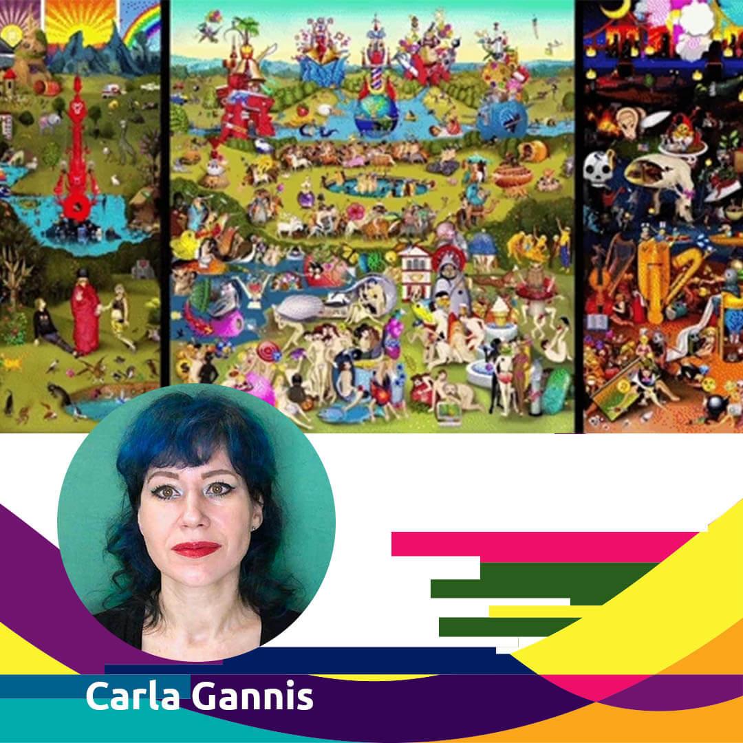 WOMEN IN DIGITAL ART CARLA GANNIS - AGORA DIGITAL ART