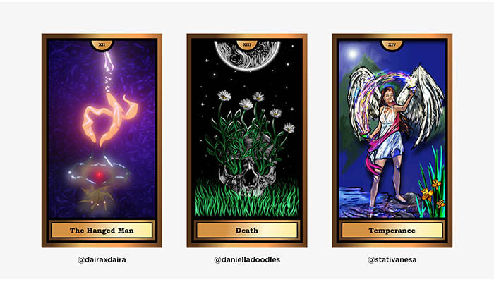 The Arcana Crypto Tarot by WOCA artists 5 - Agora Digital Art