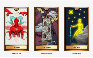 The Arcana Crypto Tarot by WOCA artists 6 - Agora Digital Art