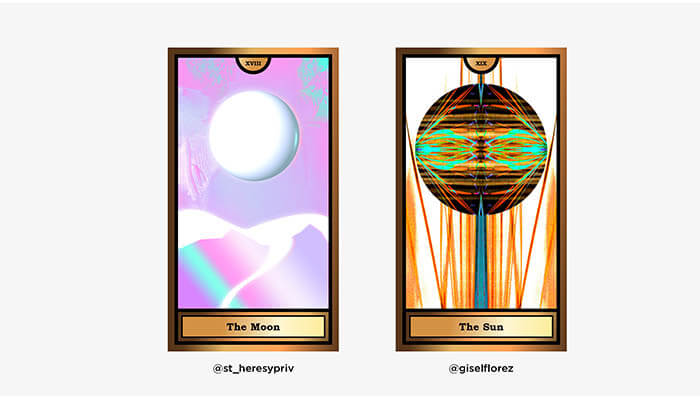 The Arcana Crypto Tarot by WOCA artists 7 - Agora Digital Art