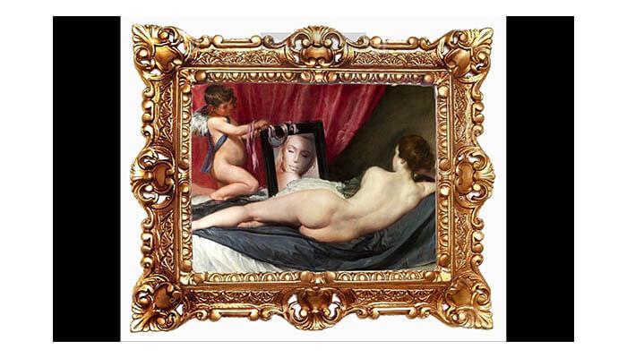 Tyler Payne Aesthetics - Rokeby Venus from Diego Velazquez 2020 - Agora Digital Art