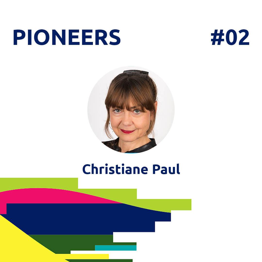21.05.15 PIONEERS 2 Christiane Paul, Digital Curator - Agora Digital Art