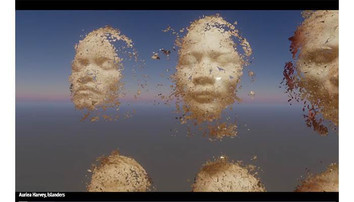 Auriea Harvey Islander 2019 Telematic - Agora Digital Art