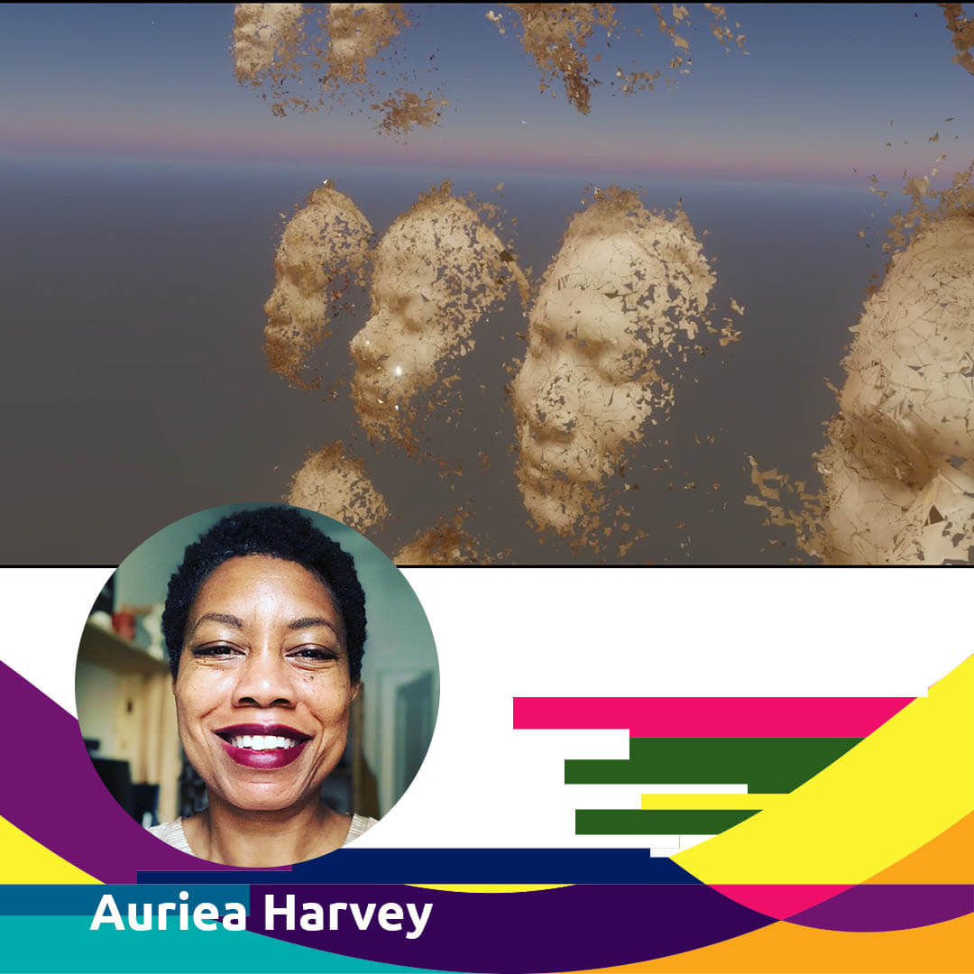 Woman Digital Artist Harvey Auriea for Agora Digital Art