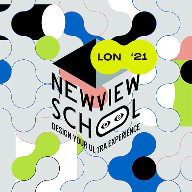 NewView School logo - partner of Agora Digital Art