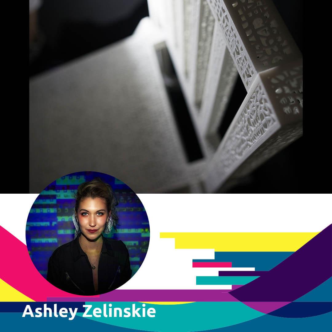 Women Digital Artist: ASHLEY ZELINSKIE for Agora Digital Art