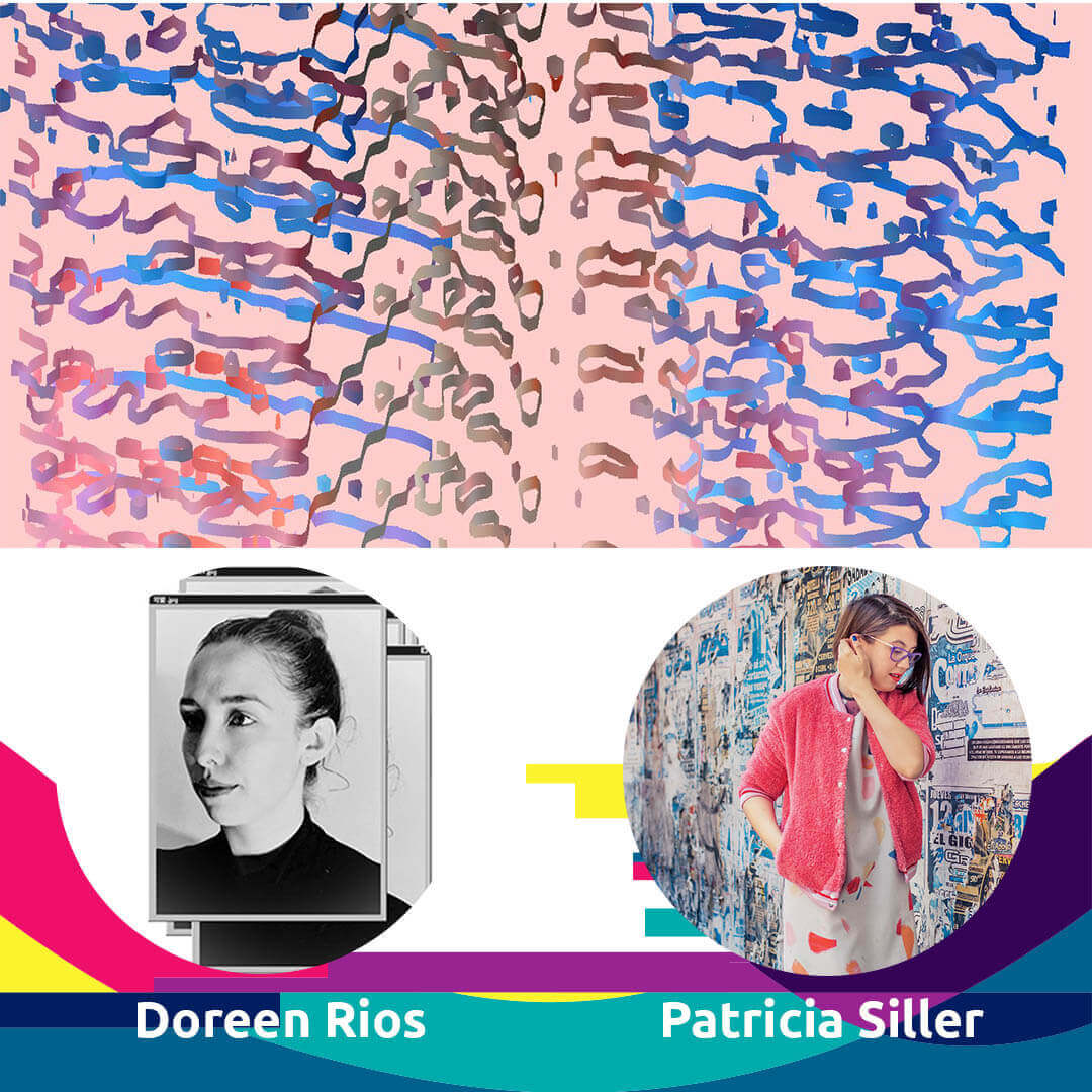 Agora Talk Doreen Rios Patricia Siller for Agora Digital Art