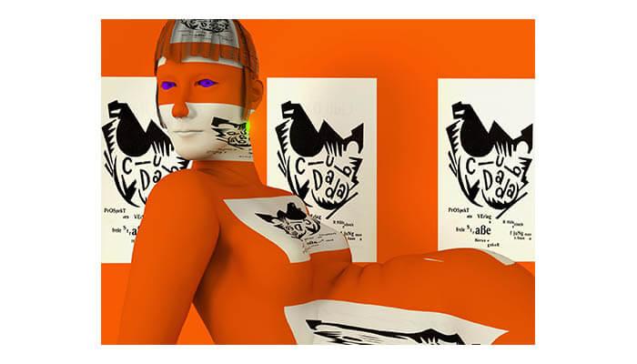 Claudia Hart - OrangeDada_Kiki-HyperAllergic