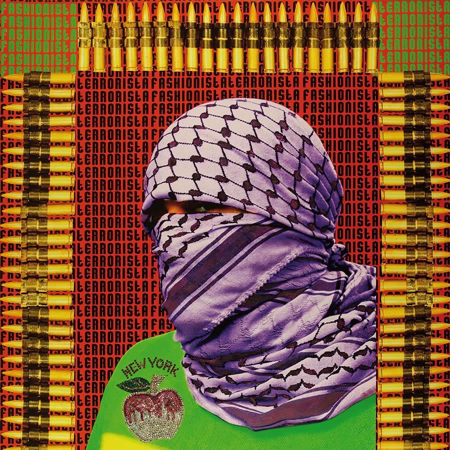 Palestinian artst: Laila Shawa for Agora Digital Art