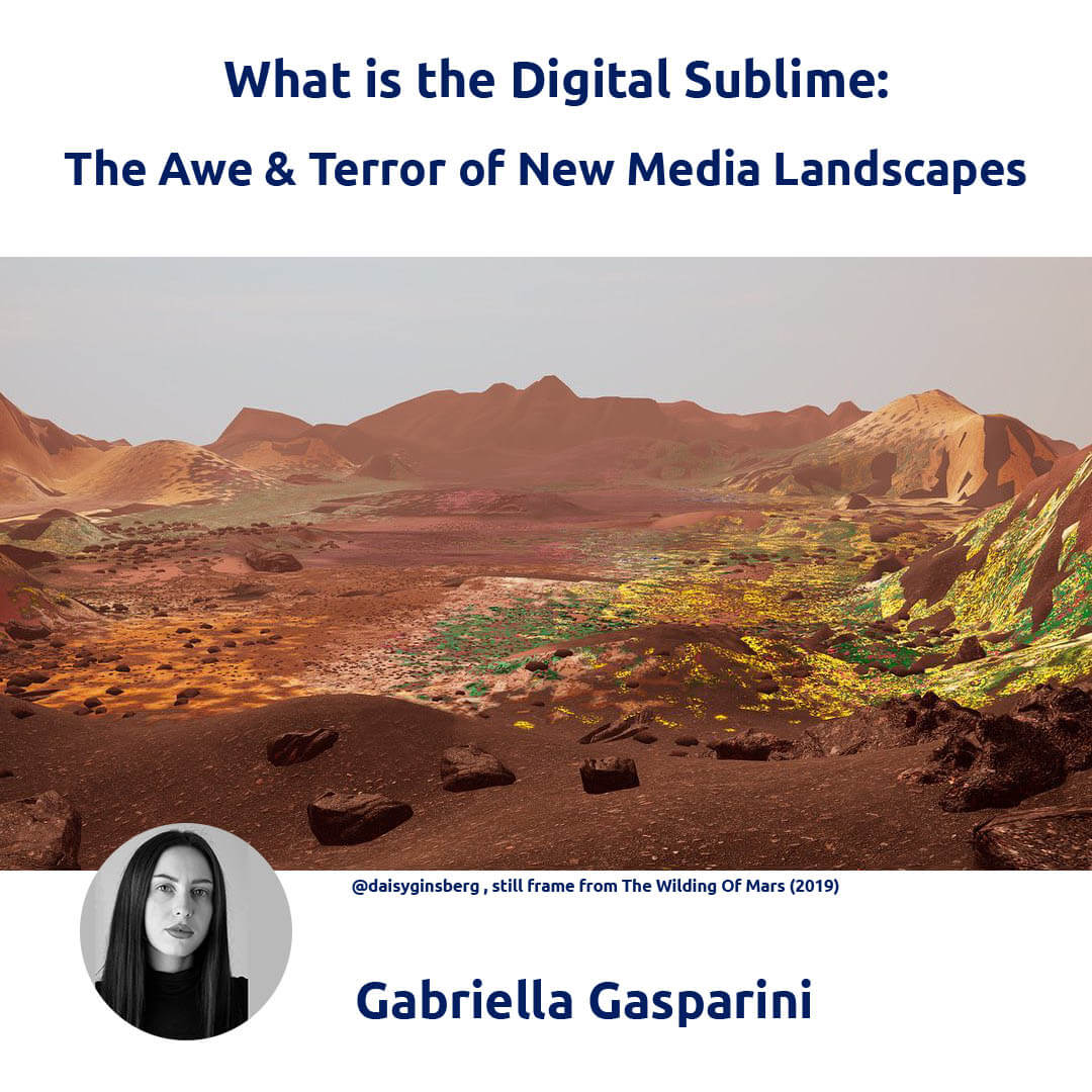 What is Digital Sublime - Gabriella Gasparini for Agora Digital Art