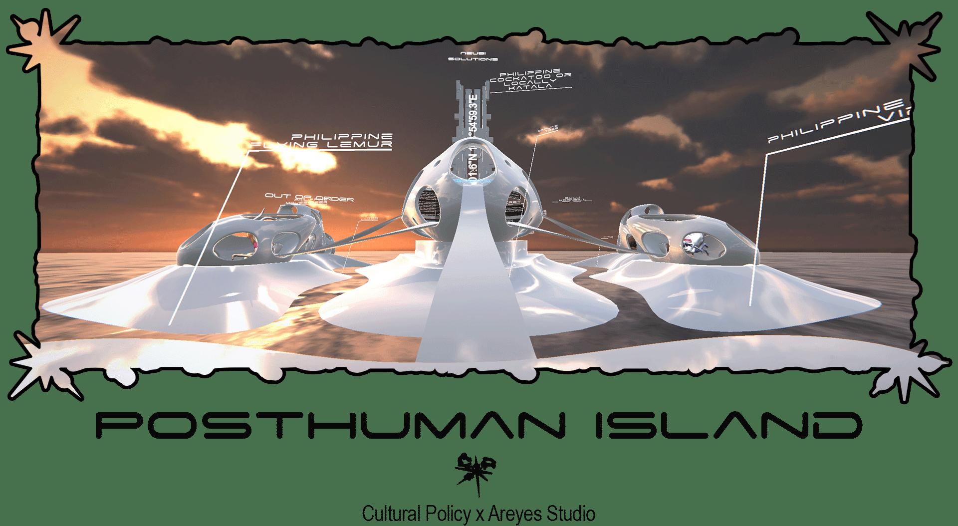 Alice Scope - Post Human Island June 2021 for Agora Digital Art