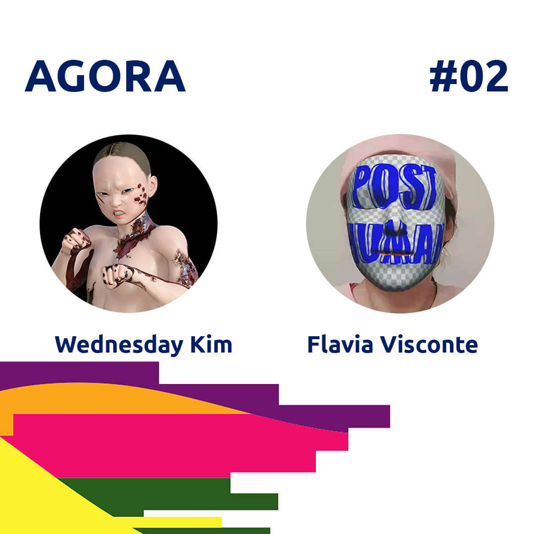 21.07.14 Podcast Agora 2: Curating Digital Art - Kim-Visconte