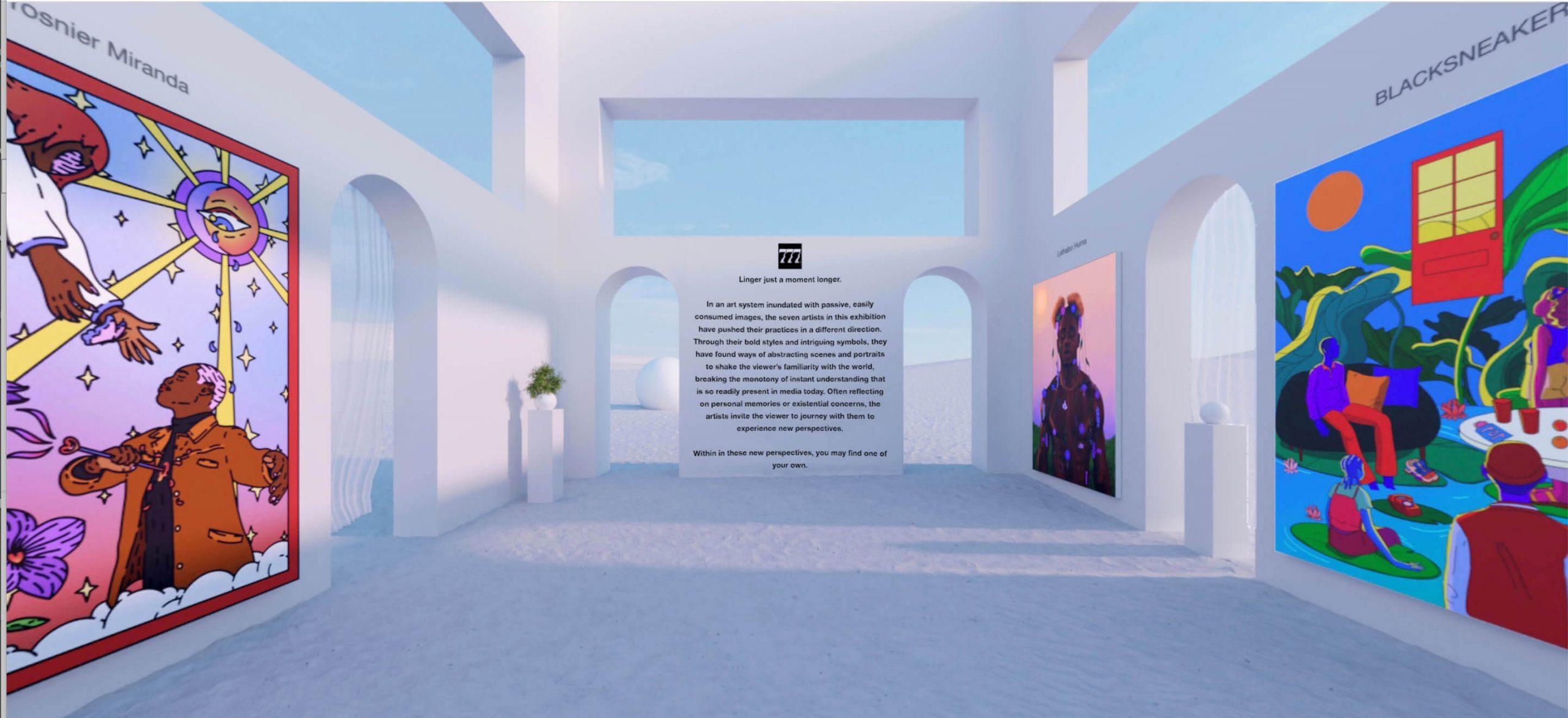 System Shock - 777 Exhibition for Agora Digital Art