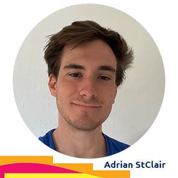 Adrian StClair - Volunteer Digital Curator at Agora Digital Art