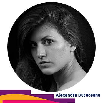 Alexandra Butuceanu - volunteer Video Editor at Agora Digital Art