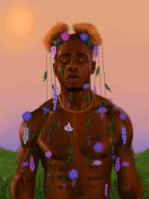 Lethabo Huma - Escapism II 2020 for Agora Digital Art