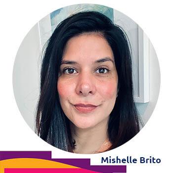 Mishelle Brito, volunteer Digital Curator at Agora Digital Art