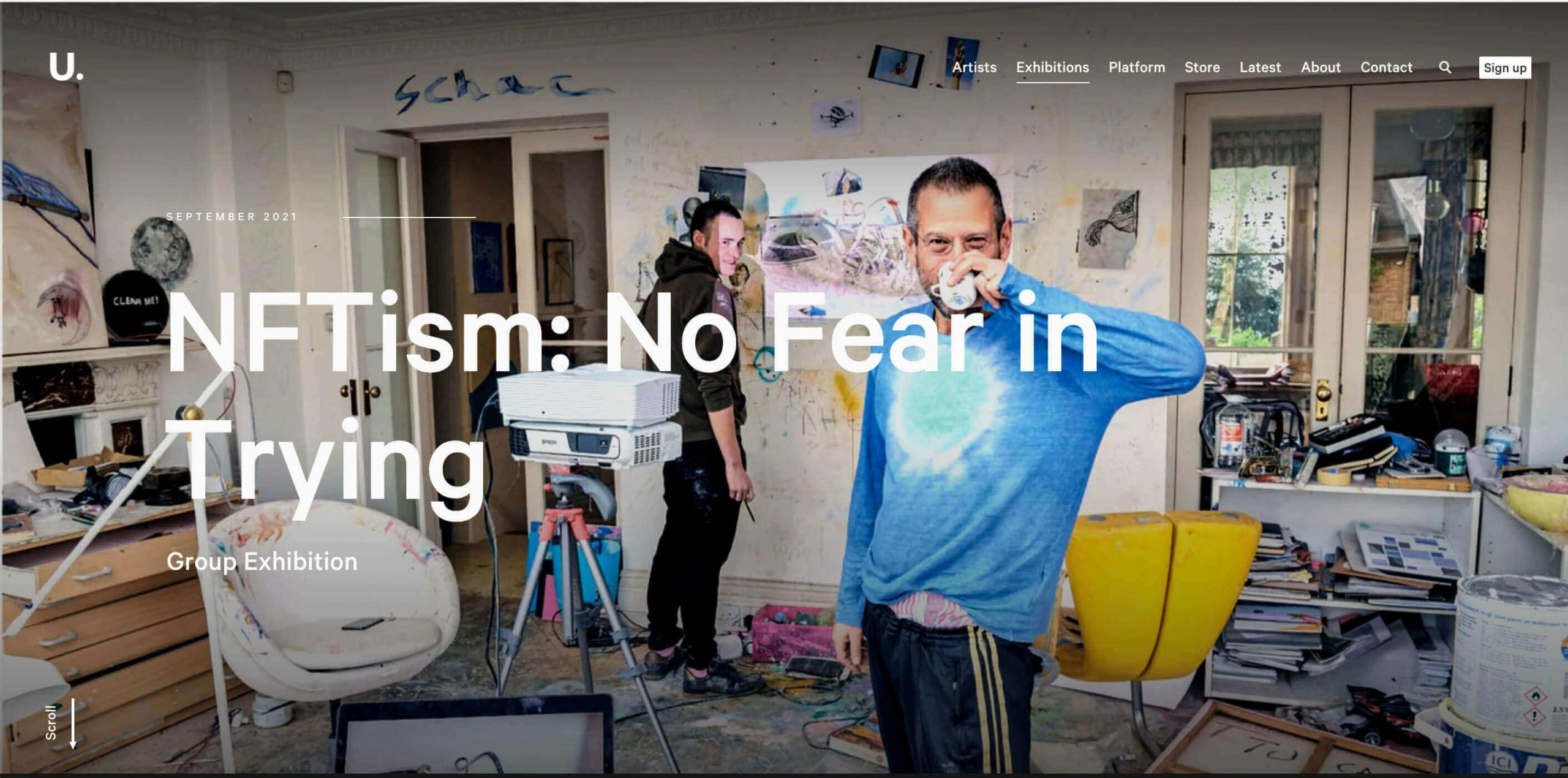 NFTism - No Fear in Trying at UnitLondon - Agora Digital Art