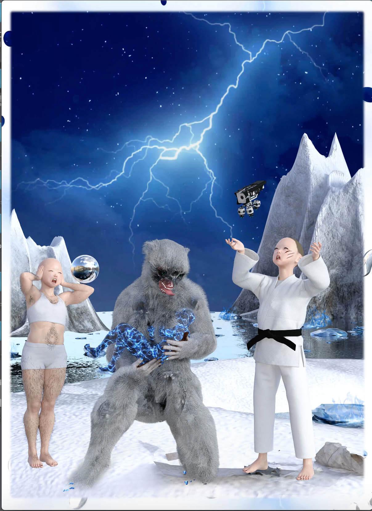 Wednesday Kim Cryptic Nostalgia and the Digital Undertakers (2021)