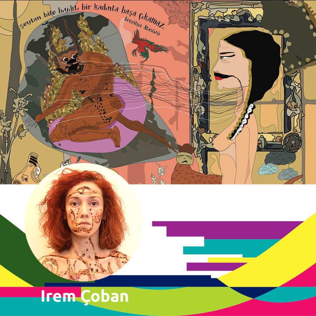women in digital art: Irem Coban - Agora Digital Art