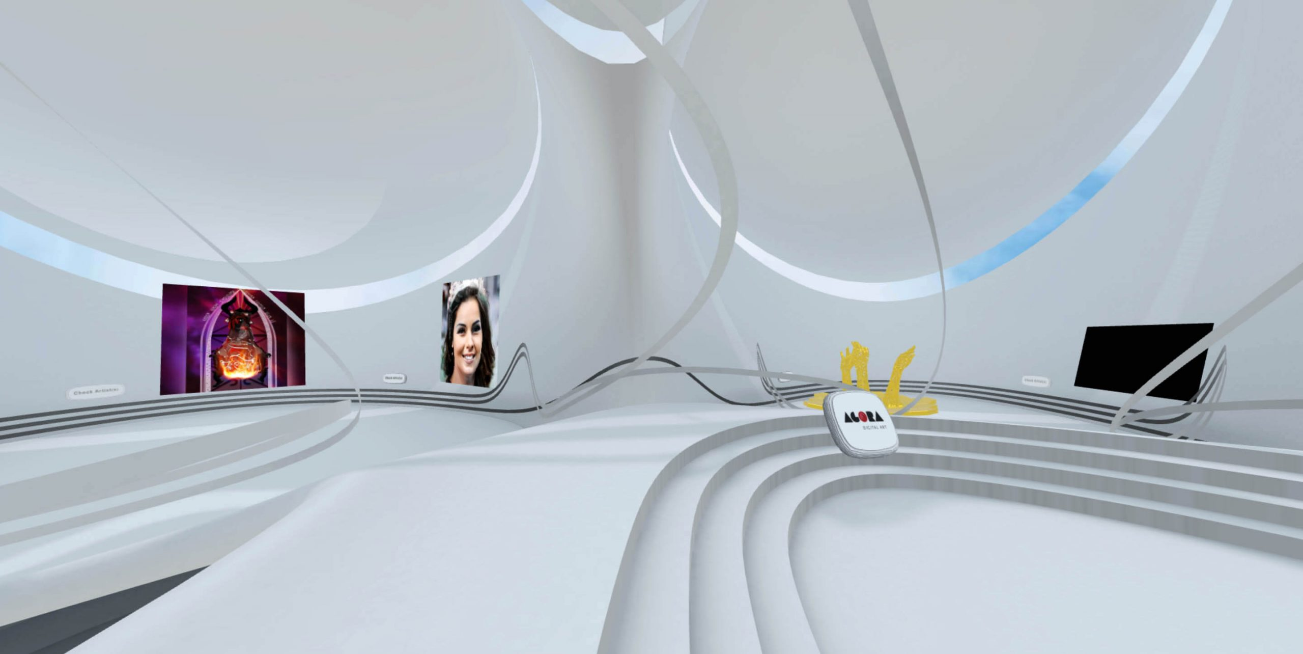 Permanent Virtual Exhibition from our Digital Residents - Agora2