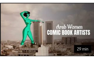Four Arab Women Comic Book Artists - Agora Digital Art