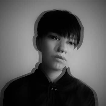 Woman Digital Artist: Reyes Gabriela - portrait for Agora Digital Art