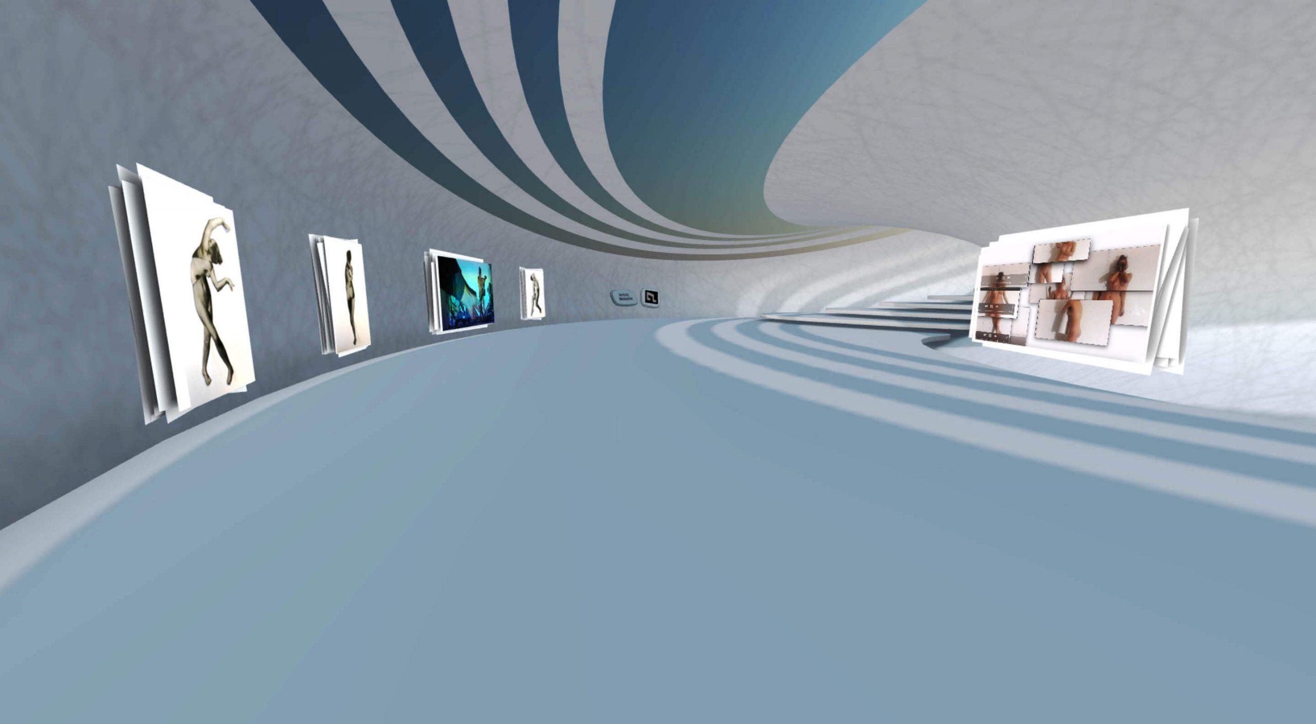 Woman Digital Artist: Emma Shapiro - Cuerpas VR Exhibition curated by Agora Digital Art