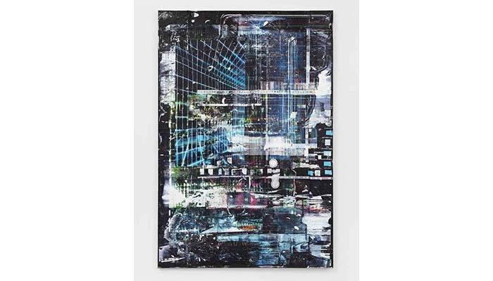 Chris Dorland, Untitled (Instinct Mode) (2020) Agora Digital Art