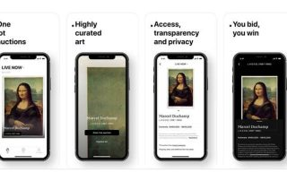 Fair Warning App - the new auction platform with NFTs - Agora Digital Art