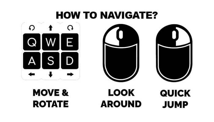How to navigate in Hubs Mozilla - Agora Digital Art