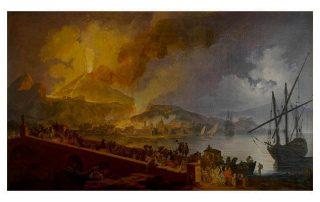 Pierre Jacques Voltaire - Vesuvius' Eruption 1782 - The Natural Sublime - Agora Digital Art